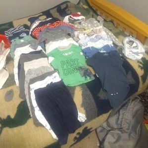 Boy 3-6 Months, and 6 Months baby clothes